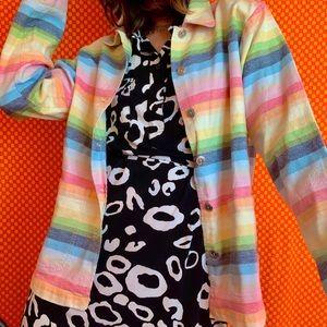 80s RAINBOW TAPESTRY JACKET